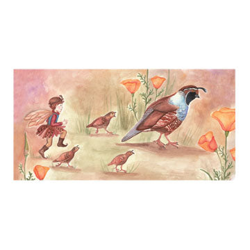 Quail Trail Music Box Top | Beautiful gifts and decor for children from Enchantmints