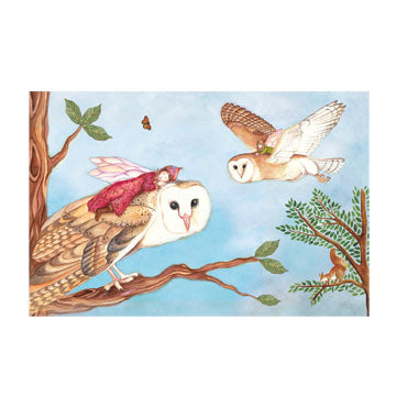 Owl Travellers Music Box top | Beautiful childrens gifts and decor from Enchantmints
