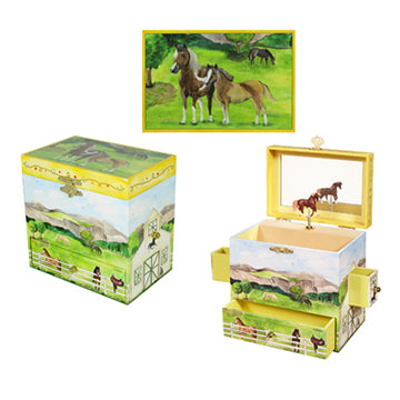 On The Farm Music Box Three-in-one View | Beautiful childrens gifts and decor from Enchantmints