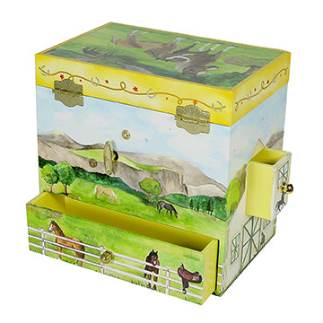 On the Farm Music Box closed | beautiful childrens gifts and decor from Enchantmints