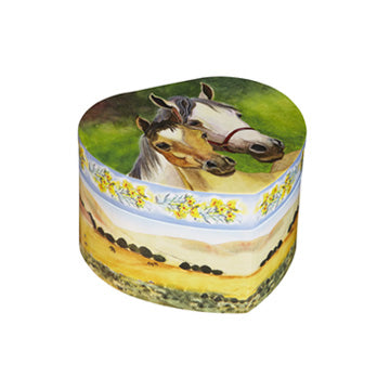 For the Love of Horses Music Box closed | beautiful childrens gifts and decor from Enchantmints