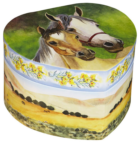 Love Of Horses Music Box | Beautiful children's gifts and decor from Enchantmints