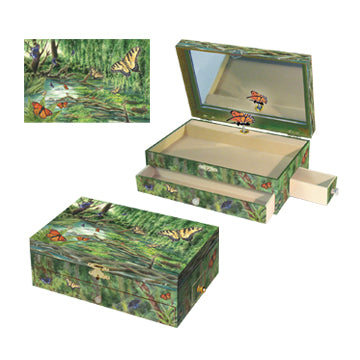 Papillon Music Box Three-in-one View | Beautiful childrens gifts and decor from Enchantmints