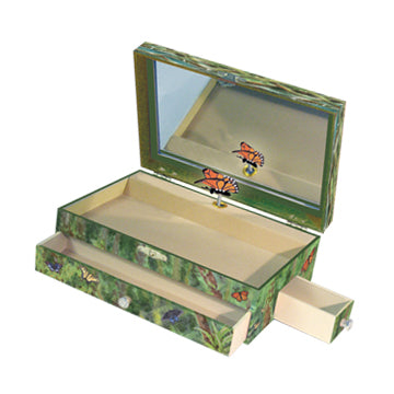 Papillon Music Box Open View | Beautiful childrens gifts and decor from Enchantmints