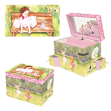 Ballet Friends Music Box Three-in-one View | Beautiful children's gifts and decor from Enchantmints