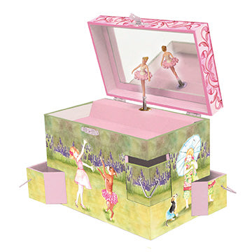 Ballet Friends Music Box Open View | Beautiful children's gifts and decor from Enchantmints