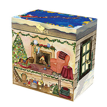 Christmas Music Box closed | beautiful childrens gifts and decor from Enchantmints
