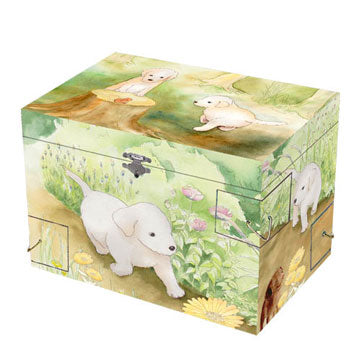 Puppy Love Music Box | Beautiful childrens gifts and decor from Enchantmints
