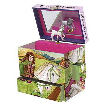 Rings on her Fingers Music Box open | Beautiful gifts and decor for children from Enchantmints