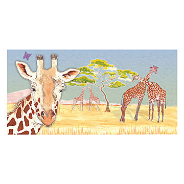 Giraffe Music Box Top View | Beautiful childrens gifts and decor from Enchantmints