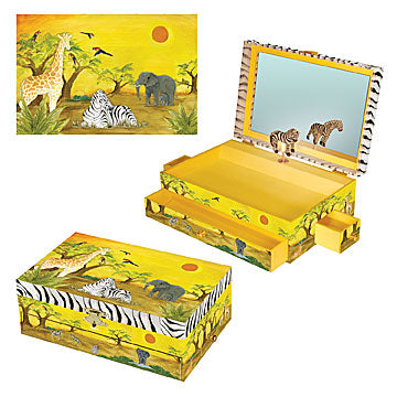 Zebra Music Box three-in-one | Beautiful childrens gifts and decor from Enchantmints