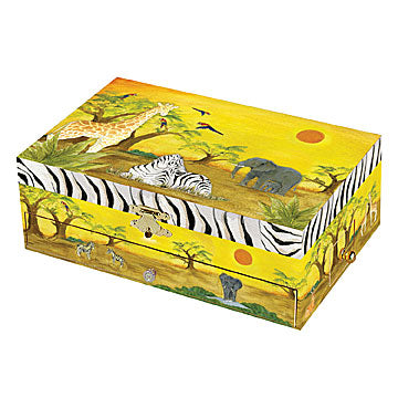 Zebra Music Box closed | beautiful childrens gifts and decor from Enchantmints