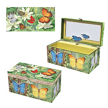 Butterfly Music Box Three-In-One View | Beautiful gifts and decor for children from Enchantmints