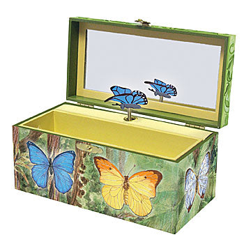Butterfly Music Box Open View | Beautiful gifts and decor for children from Enchantmints