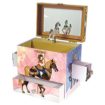 Carousel Music Box Open View | Beautiful childrens gifts and decor from Enchantmints