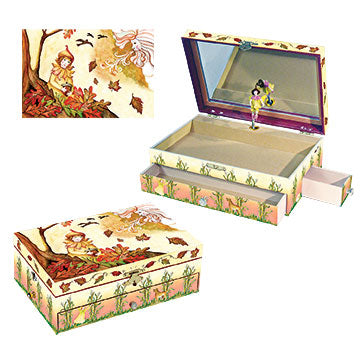 Falling Leaves Music Box Three-in-one View | Gorgeous childrens gifts and decor from Enchantmints