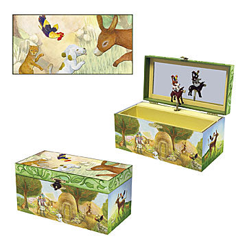 Bremen Town Friends Music Box Three-in-one View | Beautiful childrens gifts and decor from Enchantmints
