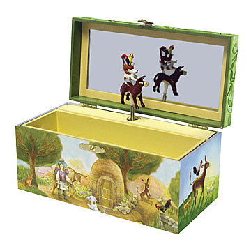 Bremen Town Friends Music Box Open View | Beautiful childrens gifts and decor from Enchantmints