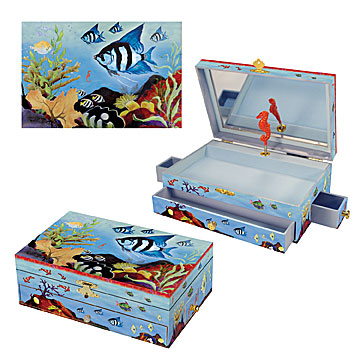 Beneath the Waves Music Box Three-in-one View | Beautiful childrens gifts and decor from Enchantmints