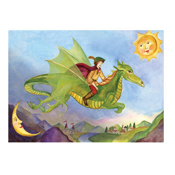 Friendly Dragon Music Box Top View | Beautiful childrens gifts and decor from Enchantmints