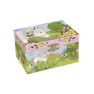 Fairy Horse Music Box closed | beautiful childrens gifts and decor from Enchantmints