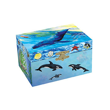 Undersea Friends Music Box closed | beautiful childrens gifts and decor from Enchantmints