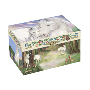 Gentle Unicorns Music Box closed | beautiful childrens gifts and decor from Enchantmints