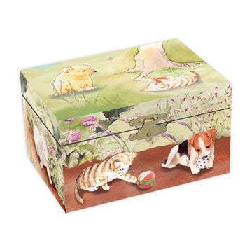 Playful Pets Music Box | Beautiful childrens gifts and decor from Enchantmints