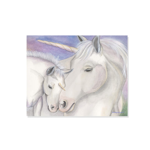 unicorn printable wall art from enchantmints