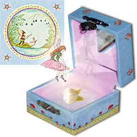 Tooth Fairy Box Fairy At Work | Beautiful childrens gifts and decor from Enchantmints