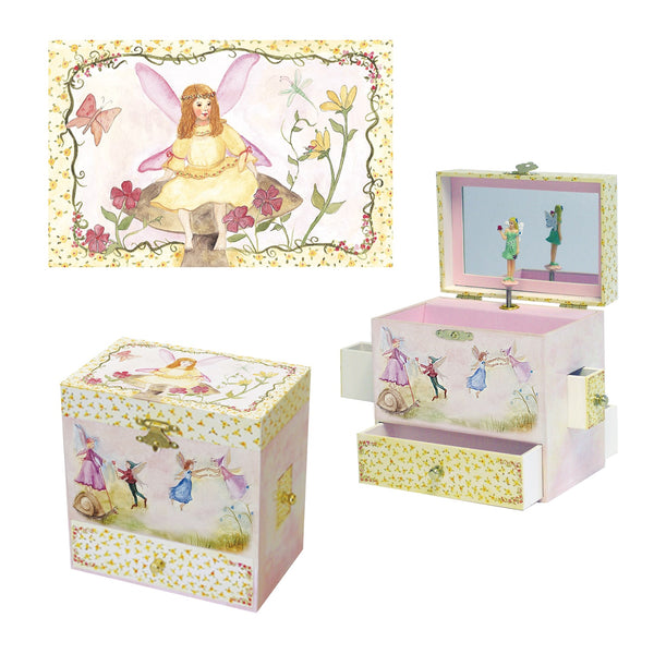 Just in Case music box 3-in-1 view | Musical treasure boxes and decor for kids from Enchantmints | unusual gifts for girls