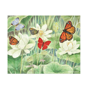 butterfly delight printable wall art from Enchantmints