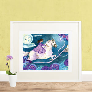 Discover Your World Horse Printable Wall Art