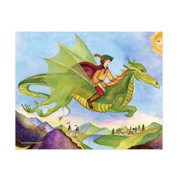 dragon's world printable wall art from Enchantmints