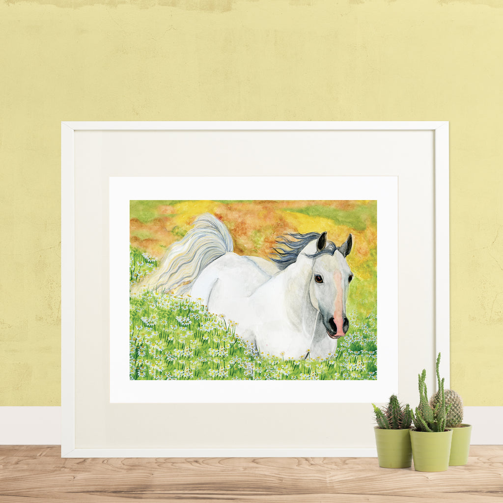 Hideaway Horse Printable Wall Art - Enchantmints