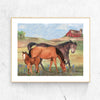 Horse Ranch Printable Wall Art