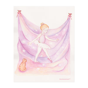little ballerina printable wall art from Enchantmints