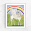 Pegasus Rainbow Printable Wall Art