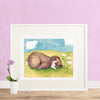 Sleeping Bunny Printable Wall Art