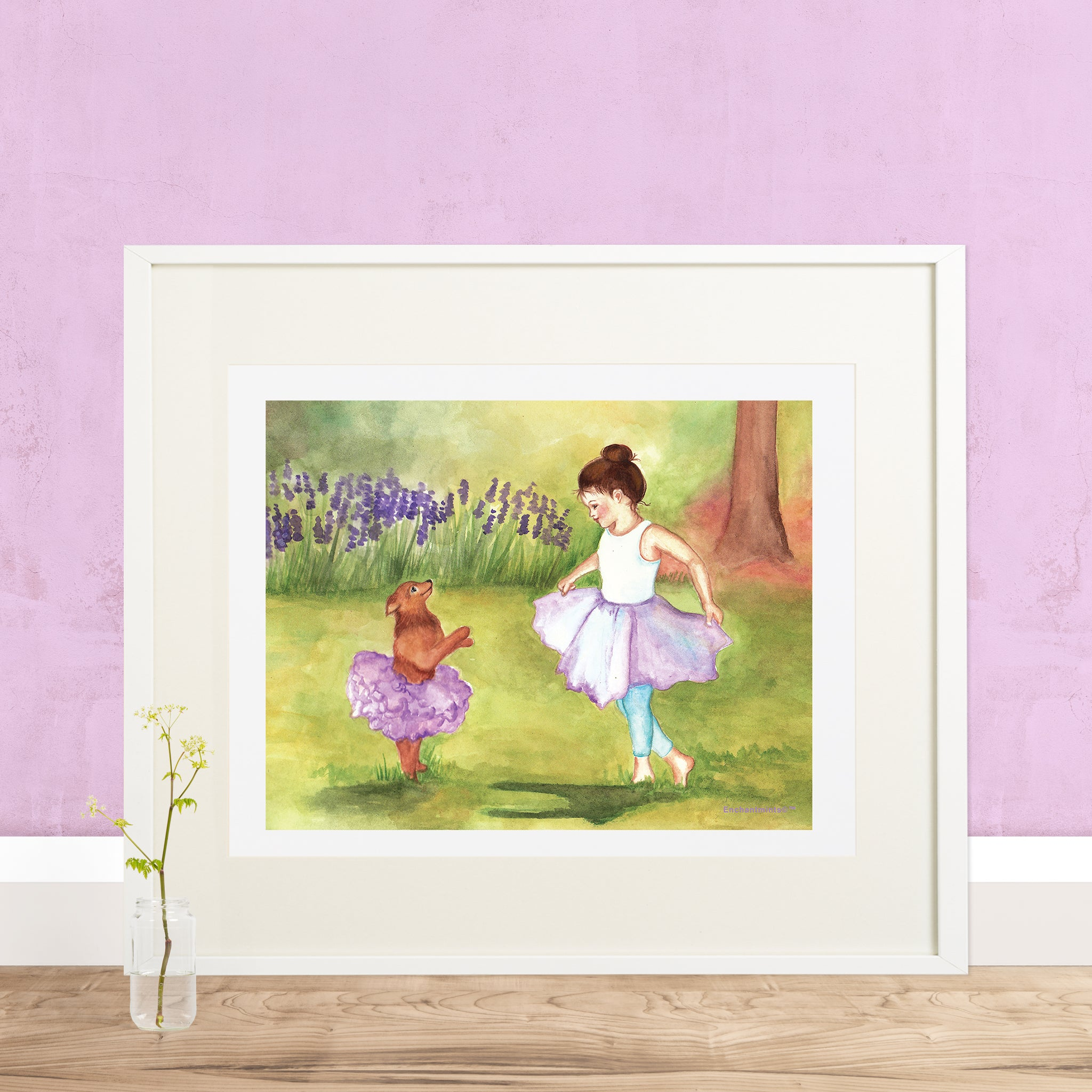 Ballet and Ballerina Printable Wall Art - Enchantmints