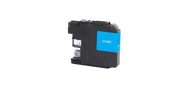 Brother  LC105C-Compatible Ink Cartridge