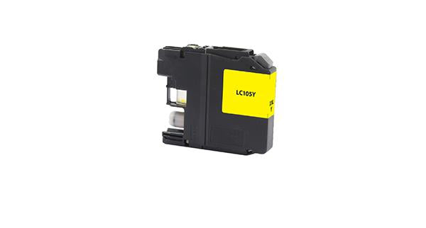 Brother  LC105Y-Compatible Ink Cartridge