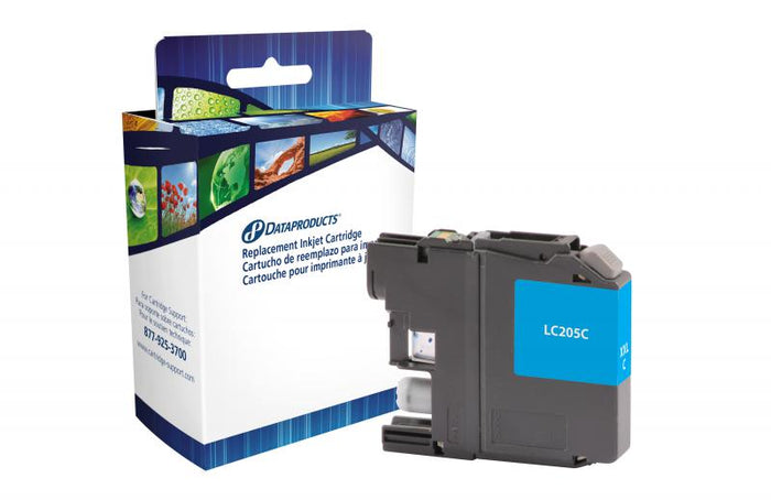Brother  LC205C-Compatible Ink Cartridge