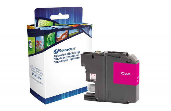 Brother  LC205M-Compatible Ink Cartridge