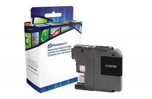 Brother  LC207BK-Compatible Ink Cartridge - Budget Printing & Supplies