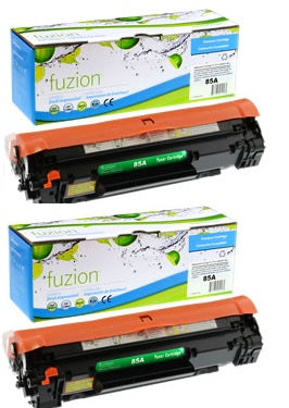 HP CE285D Toner ( CE285) - Black (2/Pack)- New Compatible