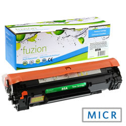HP CE285A MICR Toner ( CE285 ) - Black- Remanufactured