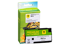 HP #951 XL Inkjet - Yellow- New Compatible - Budget Printing & Supplies