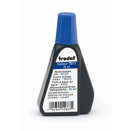Trodat® 7011 Premium Ink for Stamp Pad, 28ml/bottle - Blue