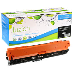HP Colour Laserjet CP5525 Toner - Black- Remanufactured CE270A